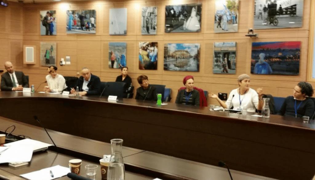 ועדת החינוך של הכנסת – דיון בנושא סמכות הורים ומורים ביוזמת מרכז ״שפר״